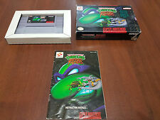 SNES Turtles Tournament Fighters   SUPER NINTENDO SUPERNINTENDO PAL USA NTSC