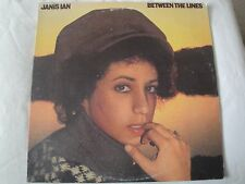 JANIS IAN BETWEEN THE LINES VINYL LP 1975 COLUMBIA RECORDS WHEN THE PARTY'S OVER