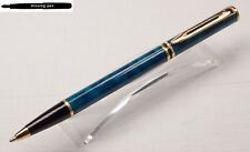 Waterman Laureat Ballpoint Pen in Turquoise (Twist Mechanism)
