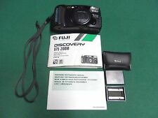 Fuji Discovery 975 35mm 35-80mm Zoom Camera w/ Panorama adapter & Manuals