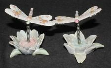 Dragonfly Flower Decorative Ornament Home Garden Decor Dragonflies Art (Set 2) A
