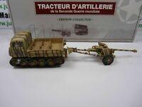 DIV1E 1/43 Blindés collector  :Tracteur d'artillerie raupenschlepper + canon !!