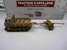 DIV1E 1/43 Panzer Sammler: Traktor D'Artillerie wo + Canon