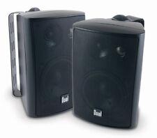 Dual 200 Watts Weather Resistant Indoor/Outdoor 3-Way Speaker - Black