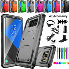 Samsung Galaxy Note 5 8 9 10 Plus 20 Ultra Hybrid Armor Impact Phone Case Cover
