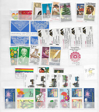 1987 MNH USA commemorative selection
