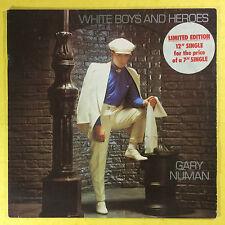 Gary Numan - White Boys And Heroes - War Games - Glitter & Ash, BEG-81T Ex+