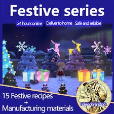ALL Illuminated Festive Christmas DIY (15 DIY)+assorted ornament Animal:Crossing