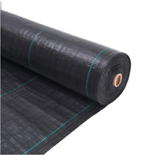More details for garden weed control fabric ground cover guard mat landscape membrane weed guard