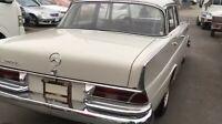 Mercedes Benz 230 S Grosse Heckflosse Bj.1966 mit Klimaanlage original Zustand