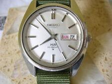 Vintage 70s Seiko KS King Seiko men's watch, double quickset date, Ref 5626