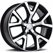 "4 New Jeep Cherokee Trail Hawk Wheels Oe 18"" Black & Machined 5x110"