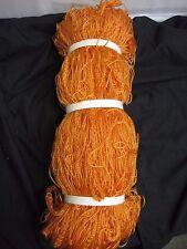 Orange Junior Jr Youth Soccer Goalie Goal Net Netting 6' x 18'