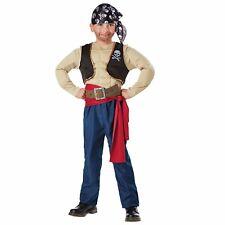 Muscle Pirate Boy's Buccaneer Halloween Costume Child Medium #5606