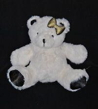 Peluche doudou ours blanc BEAUTY SUCCESS Noël 2012 Alexandra Lamy NEUF