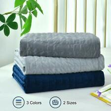 Removable Duvet Cover for Weighted Blanket 60x80 / 48x72 Dark/Light Gray Navy