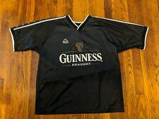 """Kappa """"Guiness Draught"""" Soccer Jersey - Men's Medium"""