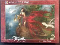 Swans - Forgotten by Cris Ortega Art 1000 Piece Puzzle HEYE Germany 2010