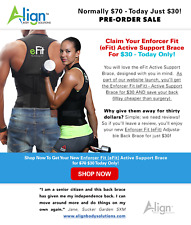 Align: The Enforcer Fit active support brace