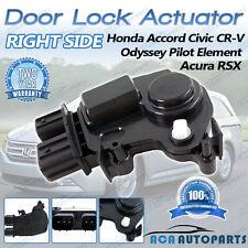 RIGHT Door Lock Actuator Acura RSX Honda Accord Civic CR-V Odyssey Element Pilot