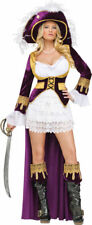 Morris Costumes Women's New Pirate Caribbean Queen Adult Costume M. FW121784MD