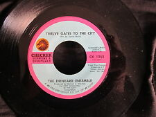 GOSPEL 45 DRINKARD ENSEMBLE 12 Gates to the City/Lord Keep Me Day by Day CHECKER