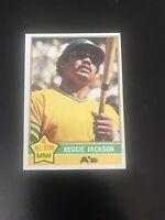 1976 TOPPS #500 REGGIE JACKSON HOF OAK A's— PACK FRESH💥*** (wph)