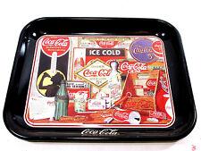 Coca Cola Metal Collectible Serving Tray  Advertising Soda Home Decor - NICE!