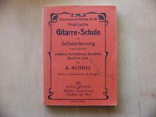 Praktische Gitarre-Schule zur Selbsterlernung Zimmermann-Schule Scholl