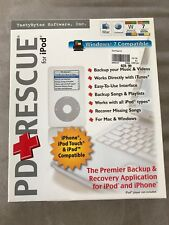 PD+Rescue For iPod - Backup Recovery Application - Mac/Windows PD Rescue Repair