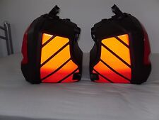REFLECTIVE CHEVRONS TO FIT TRIUMPH SPRINT ST 1050 PANNIERS STICKERS GRAPHICS