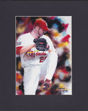 Art Print: Chris Carpenter - Cardinals - W/Mat - Free Shipping #Pop810 F4-5