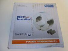Desch TAPER BUSH Buchse Spannbuchse Type 2012 Bohrung 42mm | NEU | OVP
