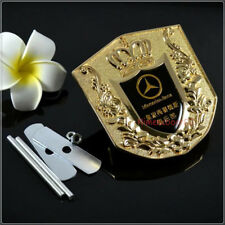 Car Auto Accessories Front Grille Emblem Decal Badge Logo For Mercedes-Benz