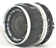 Nikon Nikkor-S Auto 35mm f/2.8 Non-Ai Wde Angle Lens Excellent No. 241551