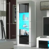 New premium Modern Gloss Living home Room smart TV Unit Display Cupboard LED