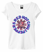 Red Hot Chili Peppers 'Freaky Styley' Womens T-Shirt (White) Amplified Clothing