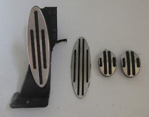 Genuine Used MINI Manual Silver Pedal Set for R56 R55 R57 - 6786593