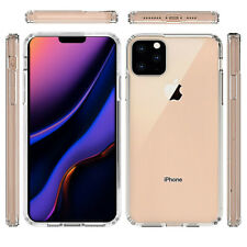 Front and Back Clear 360° Full protection Gel Cover Skin Case For iPhone 11