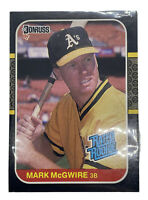 1987 Donruss Mark McGwire Oakland Athletics #46 Baseball Card 🔥🔥 PSA ?