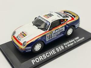 1/43 1986 Porsche 959 - Paris-Dakar - Metge / Lemoyne