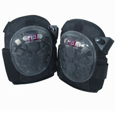 Ginocchiere WorkSafe Comfort Gel riempito in Tessuto USO PROFESSIONALE cinghie regolabili