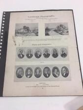 Antique Ullman Victorian Photo Gelatine Workers Union Negotiation Ephemera 1913
