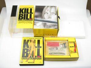Kill Bill 1 Acción Película Premium Edición Limitada Caja DVD Figura Camiseta