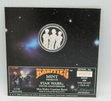 STAR WARS 1oz. .999 SILVER ~ Rarities Mint 10th Anniversary Coin Cantina Band