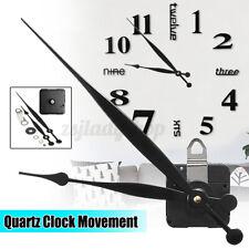 DIY High Torque Quartz Wall Clock Movement Mechanism Replacement Kit Long Shaft