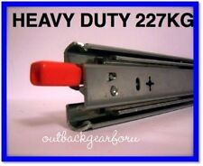 600MM 4WD DRAWER RUNNERS SLIDES HEAVY DUTY 227kg CARS, CARAVANS, UTES