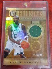 Kevin Garnett /149 #17 game-worn patch 2012 Panini Gold Standard