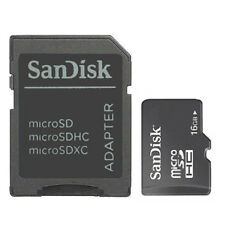 16GB SanDisk C10 Micro SD SDHC Flash Memory TF card with SD Adapter Freeshipping