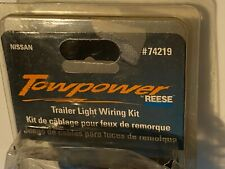 Trailer Connector Kit Reese 74219, 1998-2003 NIS.SAN FRONTIER, NEW